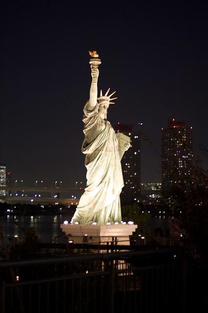 statue of liberty night - photo #21