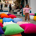 Colourful pillows