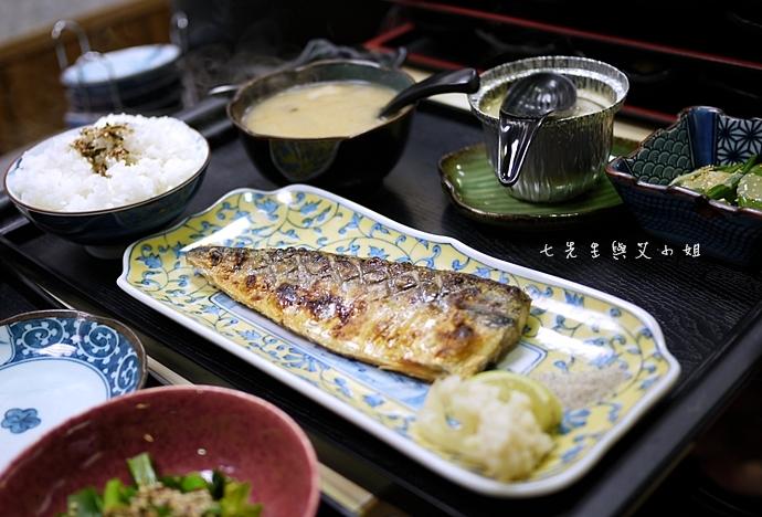 21 小六食堂鯖魚定食