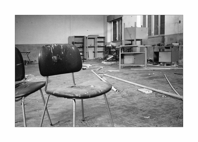 Abandoned vocational school n. 5 - Chairs