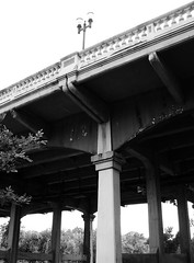 Sabine St. Bridge over Buffalo Bayou, Houston, Texas 0629091656BW