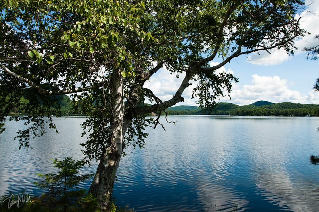 Lac superiur in parc du mont tremblant flickr photo for Lac miroir mont tremblant