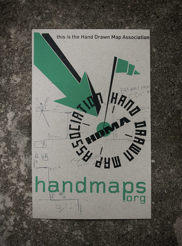 this is the Hand Drawn Map Association