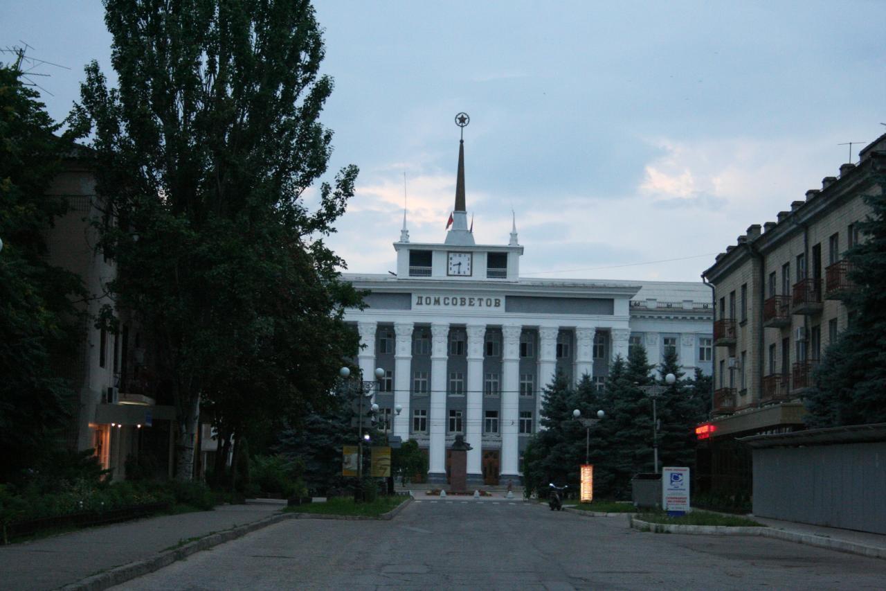 Tiraspol na Pridnestróvia