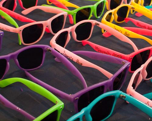 Sam Bat Mitzvah sunglasses