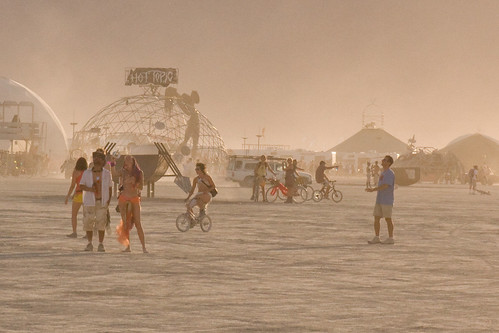 BURNING MAN HOT
