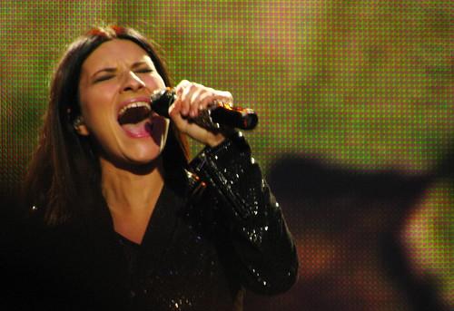 Laura Pausini en Chile 2009
