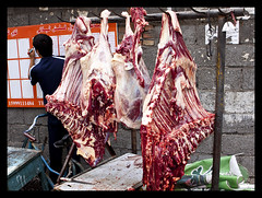 performance art(0.0), slaughterhouse(1.0), meat(1.0), food(1.0),