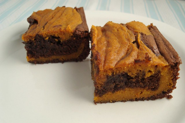 Pumpkin Swirl Brownies | Explore esimpraim's photos on Flick ...