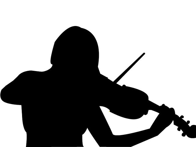 Violin Silhouette | Flickr - Photo Sharing!