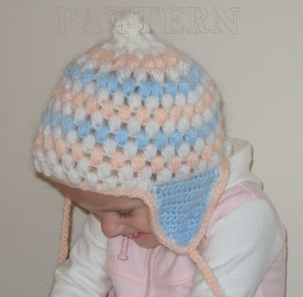 Head Huggers: Crochet Pattern: Double Crochet Sports Hat Patterns