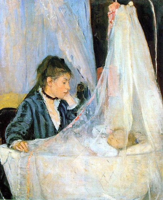 The Cradle by Berthe Morisot-1872 | Flickr - Photo Sharing!