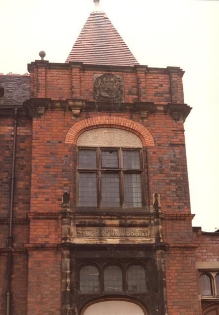 Stephenson Library, Elswick Road