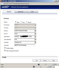 access-rule-sonicwall-SMTP-NSA-4500-1-to-1-NAT-for-all-public-ip-enhanced-OS