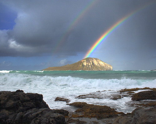 Rabbit Island Rainbow