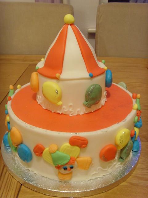 Frog Rebecca Birthday Cake