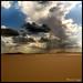 Sun Rays Over the Desert !