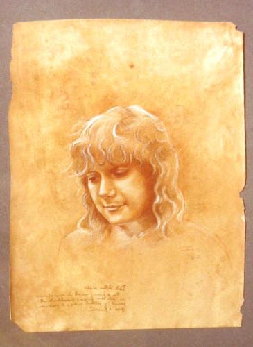 ritratto leonardesco / Renaissance portrait - Leonardo da Vinci