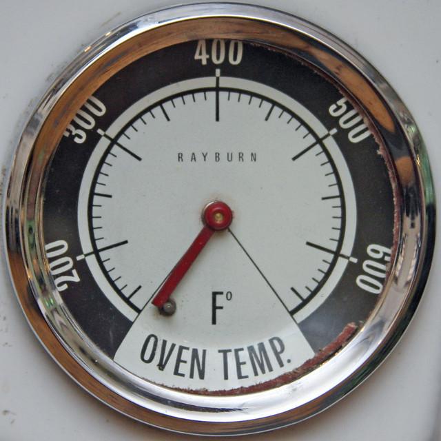 Temperature Gauge On Cool Room Def