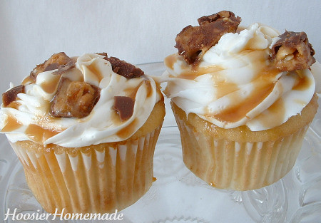 Snickers Cupcakes | Flickr - Photo Sharing!