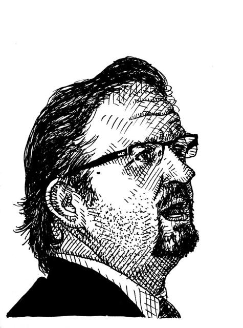Sketchbook: Sebastian Gorka