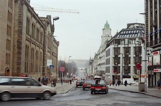 157. //46/1c/100/5f.f - Stortinget / Karl Johans Gate / Slottet - Oslo, Norway 1987