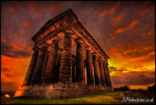 Penshaw Monument @ Sunset II