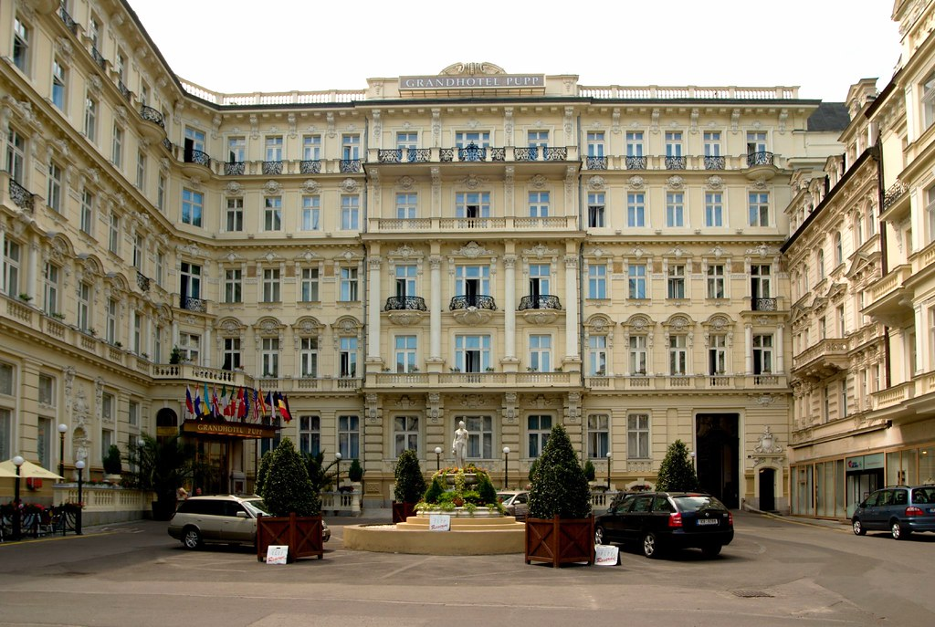 Karlovy Vary, Grand Hotel Pupp - home of James Bond 007
