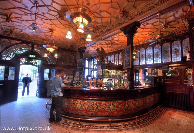 365-035 Philharmonic Pub, Hope St Liverpool, Merseyside UK