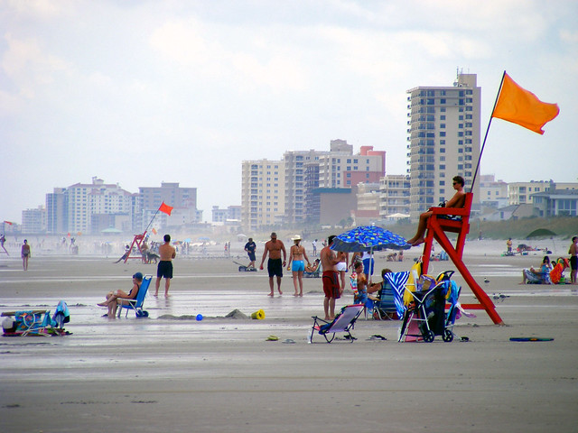 Jacksonville Beach  Aug. 2009