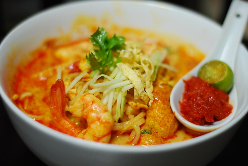Nyonya Laksa at Kochik Kitchen