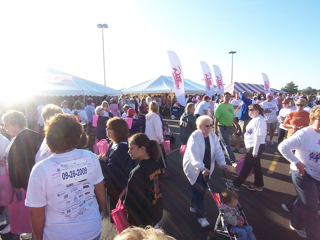 race for the cure @ wichita