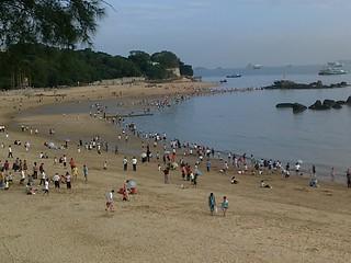 Image of 白城沙滩. voyage amoy