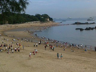 Изображение 白城沙滩. voyage amoy