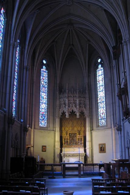 San Francisco Nob Hill Grace Cathedral Chapel Of