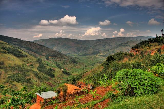 Rwandan landscape flickr photo sharing - Beautiful panoramic view house to take full advantage of the scenery ...