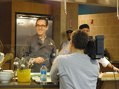 Ted Smiling During Demo