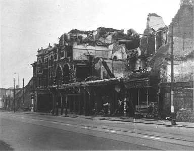 PALACE THEATRE bombed Southampton