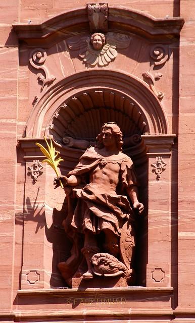 Amorbach, Abteikirche, Hl. Faustinus (Abbey Church, St. Faustinus)