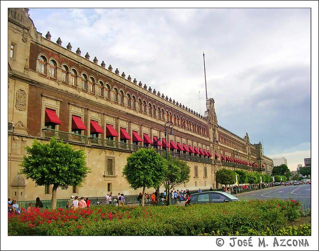 México DF. Palacio Nacional.