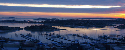 bridge sunset sky clouds landscape sweden olympus havet hav solnedgång landskap brygga e520 photoshopelements7 olympuse520 100commentgroup peternyhlén önneredsbrygga