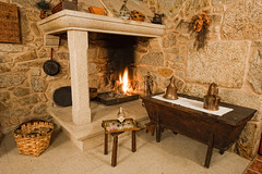 masonry oven, wood, room, fireplace, hearth,