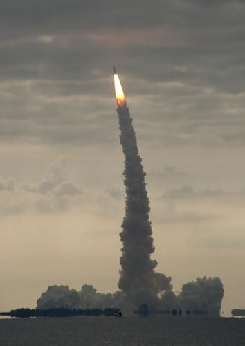 Space Shuttle Endeavour launch