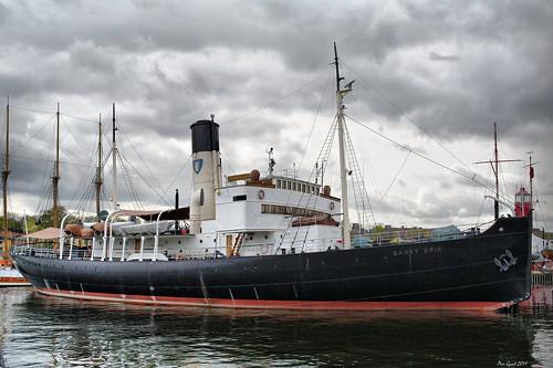 """SS Sankt Erik. Stockholm. Ледокол """"Святой Эрик"""". Стокгольм."""