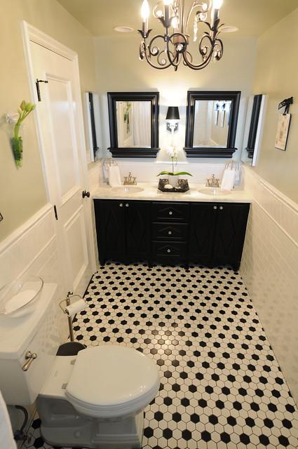 Black And White Bathroom Interior Design Flickr Photo Sharing