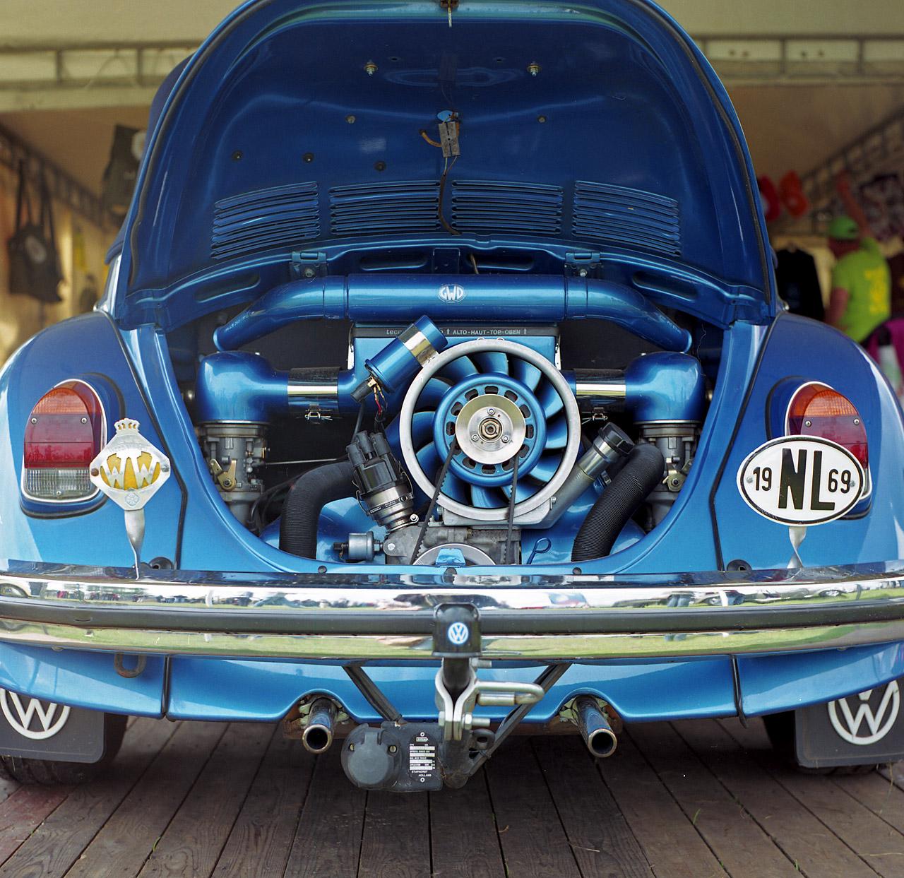 Vw Beetle Used Engine: 1969 VW Beetle (blue Engine)