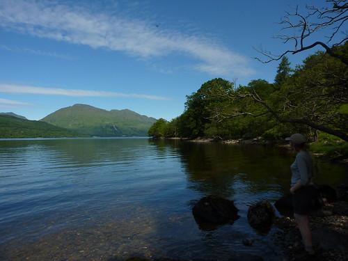 The panoramic view around Loch Lomond - photo 3