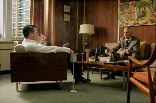 Mad Men set design: The furniture in Don Draper's office