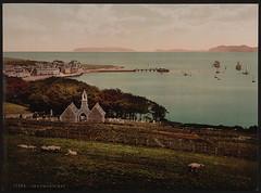 [Beaumaris Bay, Beaumaris Castle, Wales] (LOC)