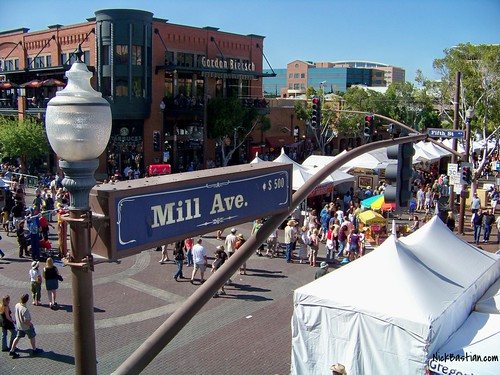 Tempe Arts Festival on Mill Avenue